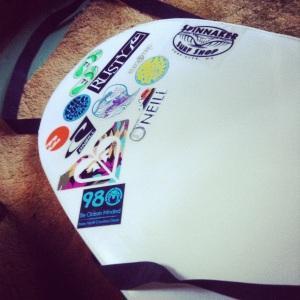 Summer 2014 Board Stickers